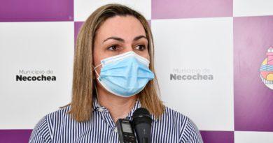 """#Necochea Ruth Kalle, Secretaria de Salud: """"Están ocupadas todas la camas del sector critico de Covid"""""""