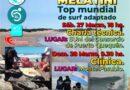 #Necochea Clínica de Surf Adaptado con Georgina Melatini y Pablo Martínez en Puerto Quequén