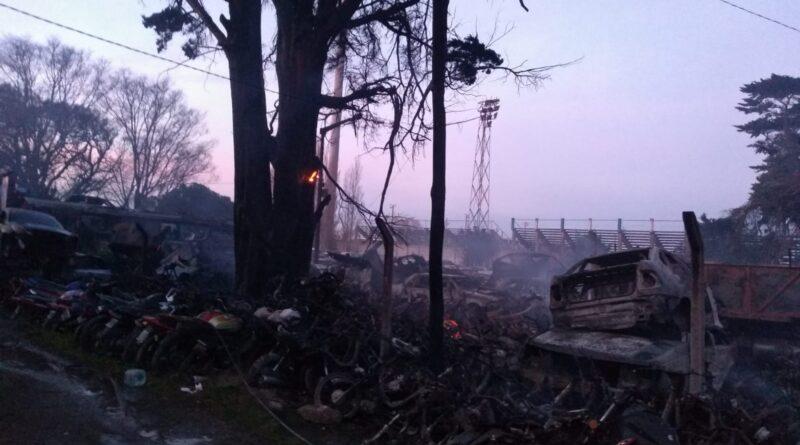 #Necochea El municipio denunció que el incendio en Tránsito habría sido intencional