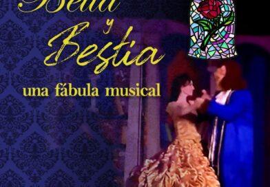 """#Necochea Un gran espectáculo para toda la familia: """"Bella y Bestia, una fábula musical"""""""
